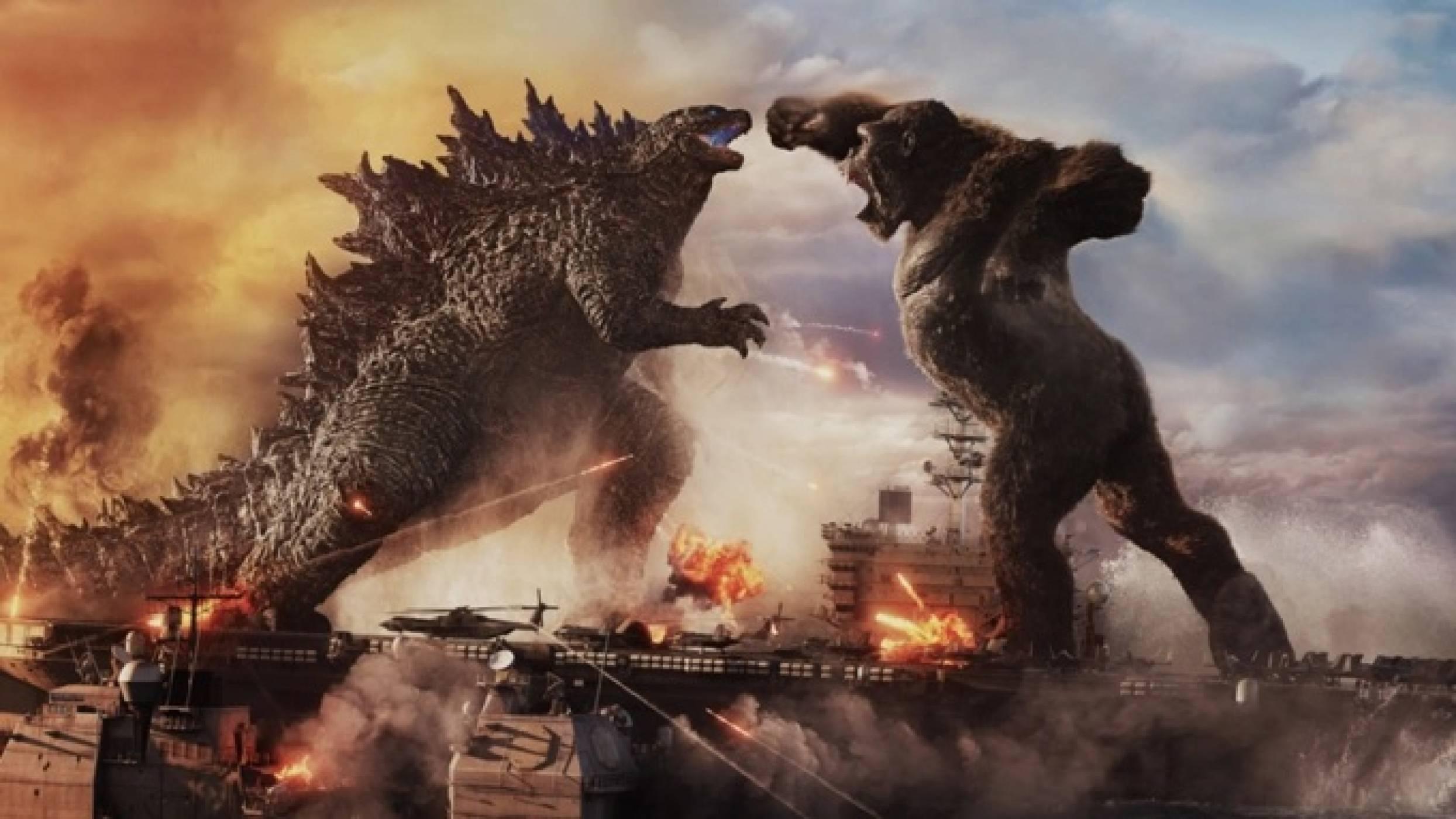 Godzilla vs. Kong постави кино рекорд в епохата на COVID-19