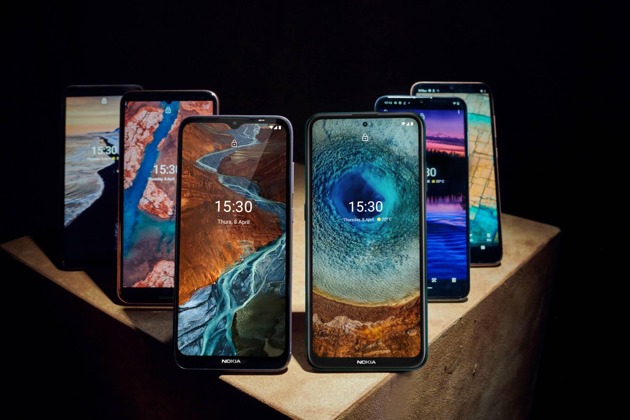 Nokia постави собствен рекорд за най-много представени наведнъж нови модели смартфони