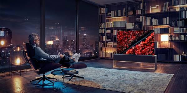 """LG пускат """"навиващия"""" сетелевизорSignаtureза продажба"""