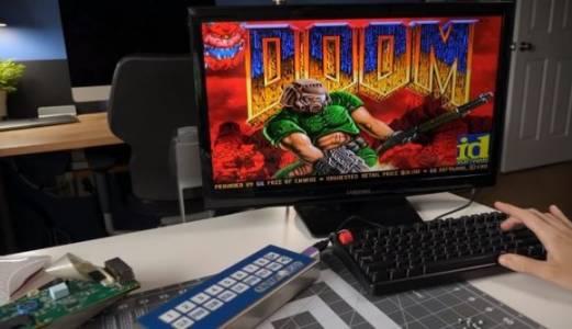 Doom вече върви и на дисплей за поръчки в ресторант (ВИДЕО)