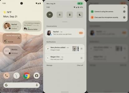 Android 12 ще праща в зимен сън ненужните ви приложения, за да пести място
