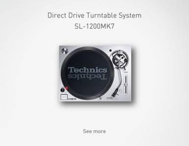 Technics представя SL-1200MK7 като допълнителен модел в своята успешна серия DJ грамофони