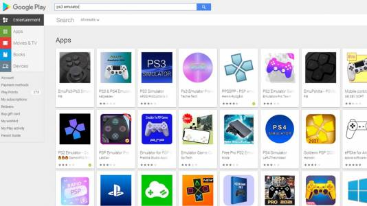 PS4/PS3 емулаторите в Play Store са фалшиви. Внимавайте!