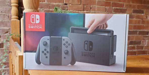 В годината на недостига, Nintendo Switch също изчезва от магазините
