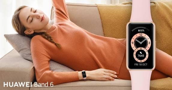 Новият HUAWEI Band 6 с 1.47-инчов AMOLED дисплей и 2 седмици живот на батерията вече е на българския пазар