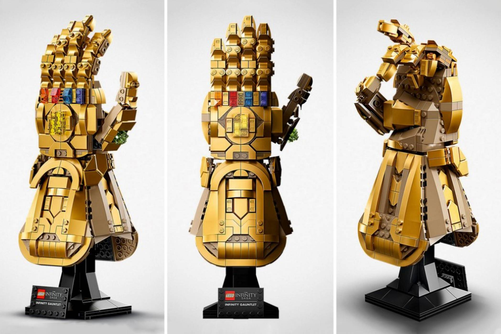 Legoпредлага златно докосване отMarvel