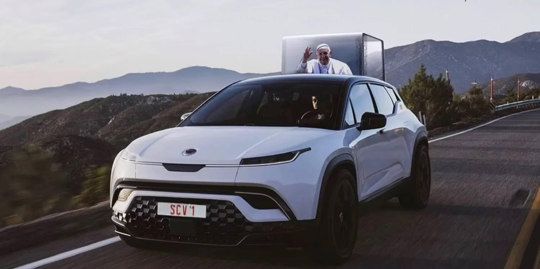 Следващият папамобил - е-кола от Fisker
