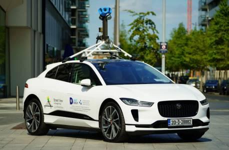 Първата е-кола на Google за Street View е Jaguar