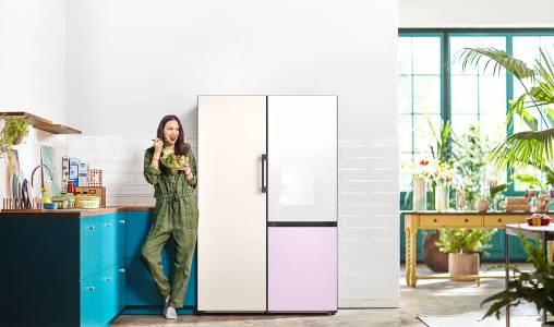 Иновативните хладилници от гамата Bespoke на Samsung са налични в България