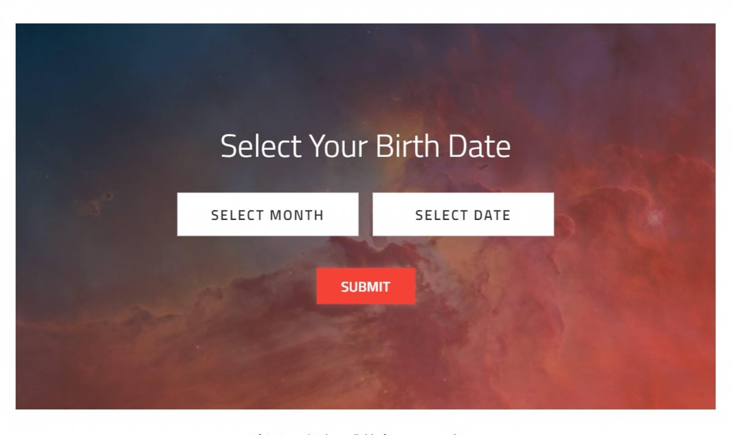Проверете какво е видялHubbleна вашия рожден ден
