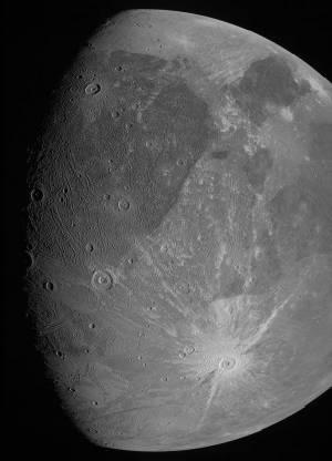 Насладете се на Ганимед - най-големия спътник в Слънчевата система