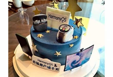 10 милиона инсталации на устройства и една торта отбелязаха успешния дебют на HarmonyOS 2