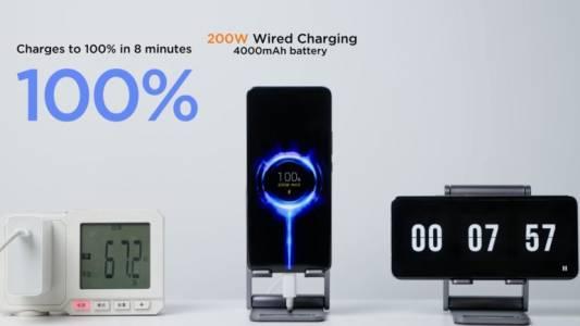 200W зарядното на Xiaomi разрушава батерията доста бързо