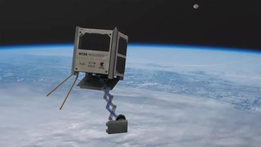 Първият в света дървен сателит ще се завърти около Земята тази година