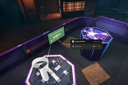 Facebook ще започне да пуска реклами във VR игрите на Oculus Quest