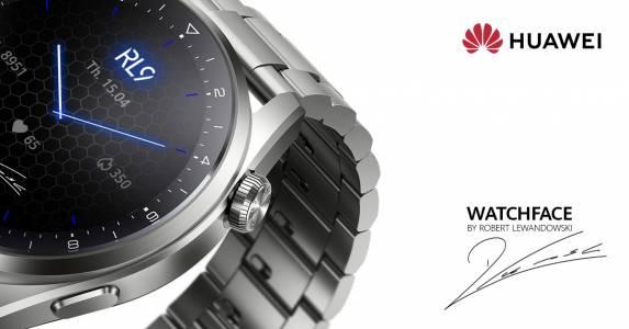 Серията HUAWEI Watch 3 идва с ексклузивен циферблат с подписа на Робърт Левандовски