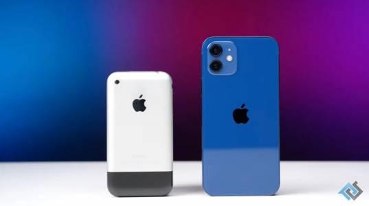 Вълнуващо сравнение показва колко по-бърз е iPhone 12 от оригиналния iPhone (ВИДЕО)