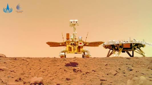 Чуйте още звуци от Марс благодарение на китайскияроувърZhurong