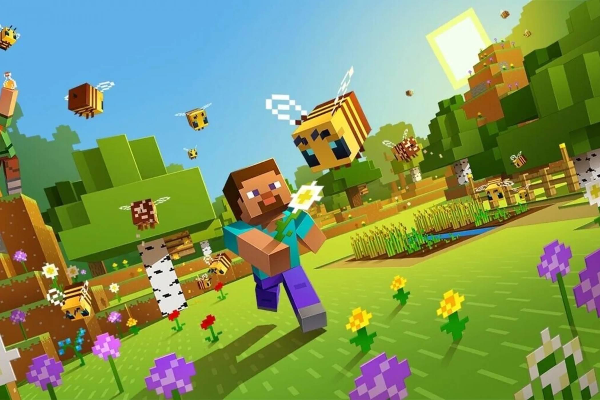Невиждана версия на Minecraft се появи след цяло десетилетие