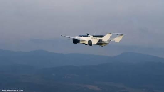 Прототипът на AirCar с първи успешен полет над града