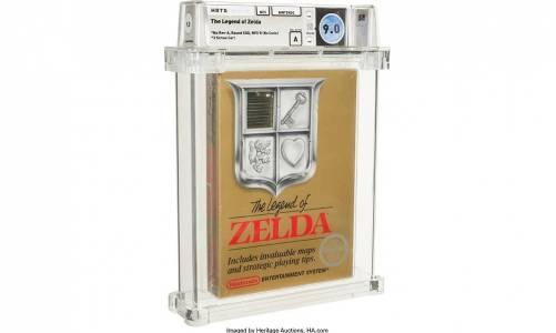 Ултра рядко копие на оригиналната Zelda гони рекордна сума на търг