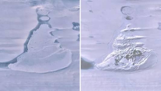 Огромно езеро на Южния полюс просто се изпари за три дни