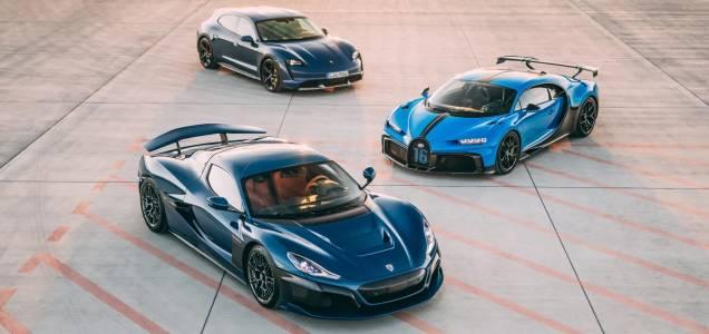 Легендата Bugatti също направи електрически завой