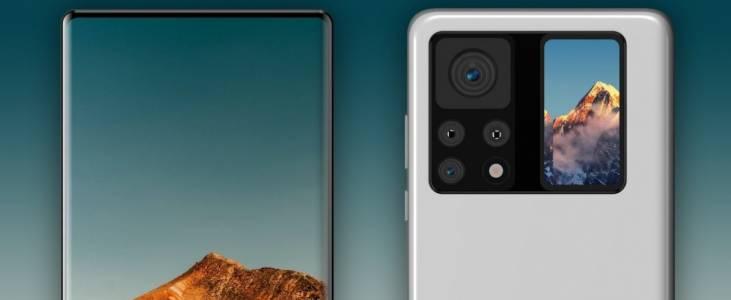 Камерата на Xiaomi Mi Mix 4 става напълно невидима, а гърбът - дисплей