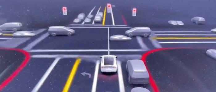 Tesla Vision скоро ще вижда полицейски светлини и мигачи