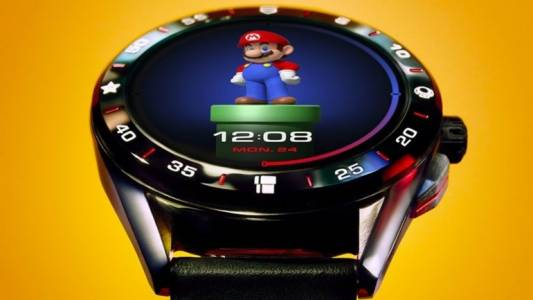 TAG Heuer пуска Super (скъп) Mario умен часовник