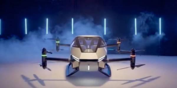 Това е новата летяща самоуправляваща се кола на XPeng