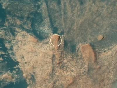 Curiosity се натъкна на задочни доказателства за някогашен живот на Марс