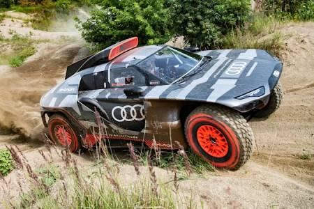 Audi се надява да покори най-прочутото рали със своя офроуд хибрид