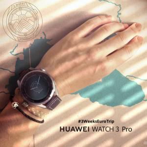 Неповторима лятна авантюра с Huawei Watch 3 Pro: 21 дни в Европа с едно зареждане