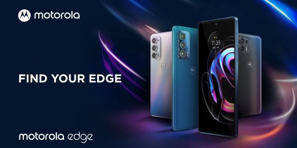 Motorola представи три нови Edge смартфона
