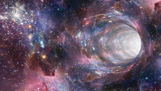 Учени за първи път забелязаха светлина, идваща от вътрешността на черна дупка
