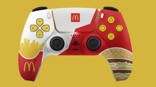 Този PS5 контролер от McDonald's е едновременно кичозен и вкусен