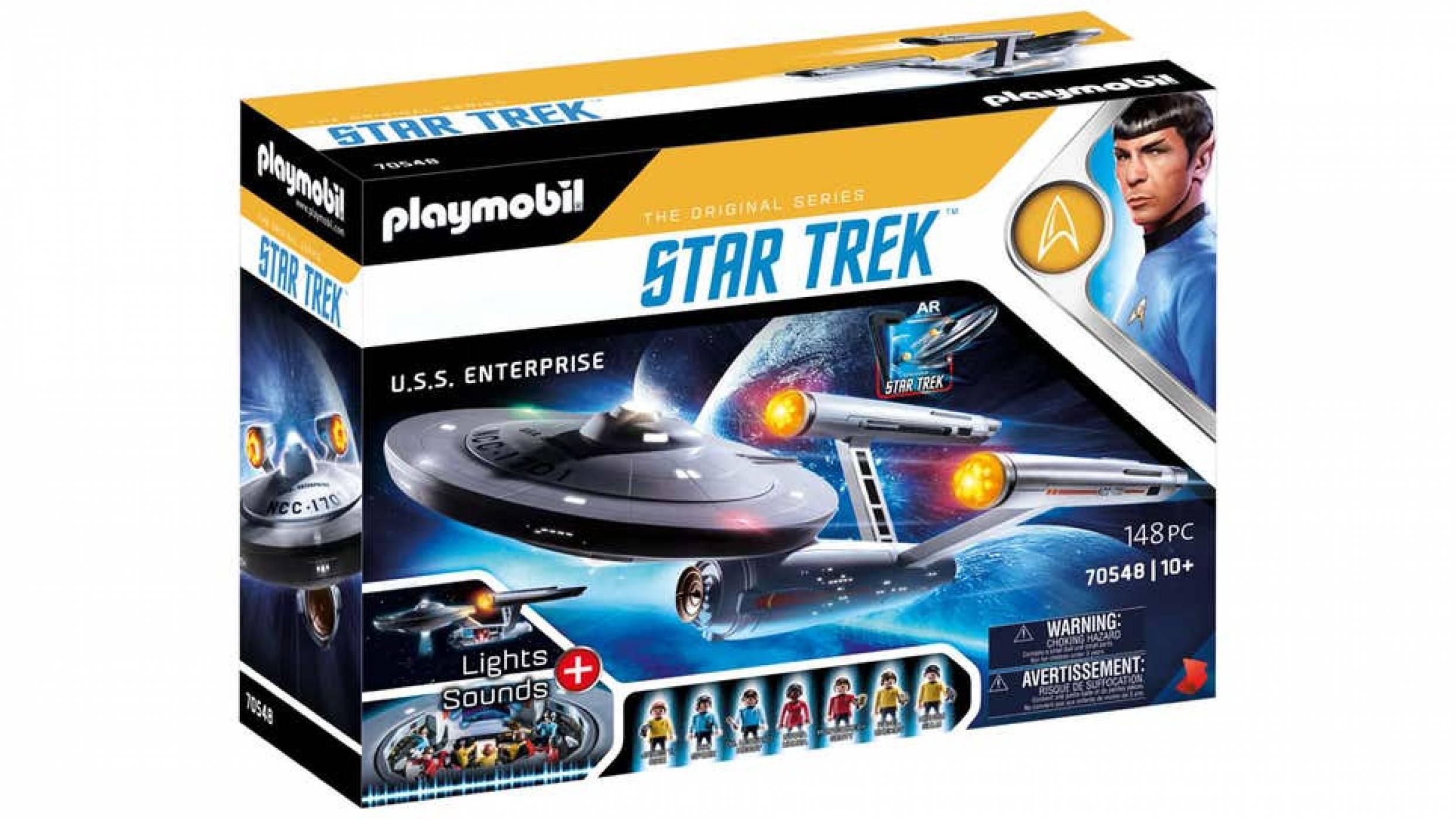 Чакането свърши: и Star Trek си получи своя модел от Playmobil