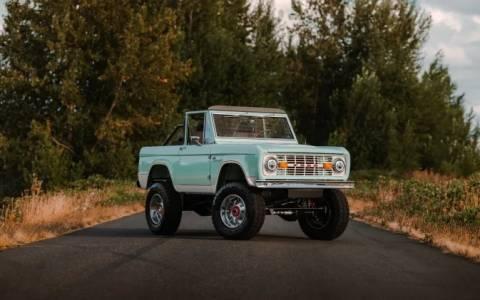 380 000 долара превръщат Ford Bronco от 1972 г. в модерен е-звяр