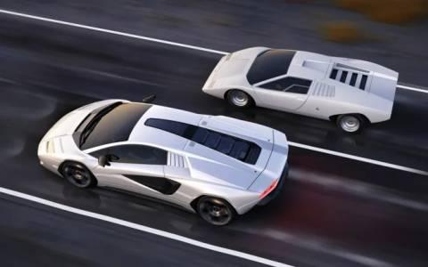 Иконата на 80-те Lamborghini Countach се завръща като хибридна суперкола
