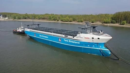 Първият е-кораб без екипаж скоро ще пори вълните на Норвегия