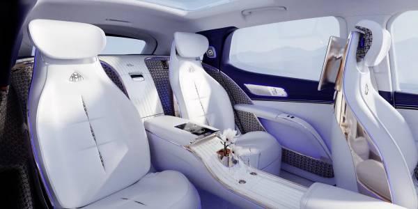 Новият SUV на Maybach е бъдещето на електрическия лукс
