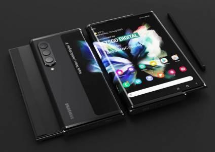 Патент на Huawei загатва за управление с жестове на навиващите се телефони