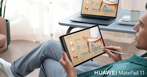 HUAWEI MatePad 11 с HarmonyOS и честота на опресняване 120 Hz вече е наличен на българския пазар в комплект със стилус и клавиатура