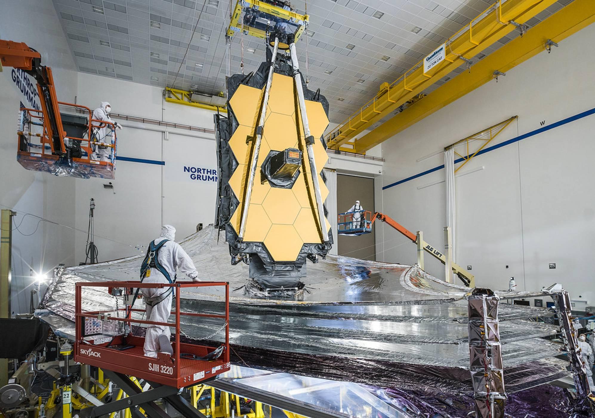 Нова дата за въвеждане в експлоатация на най-мощния космически телескоп, създаван някога