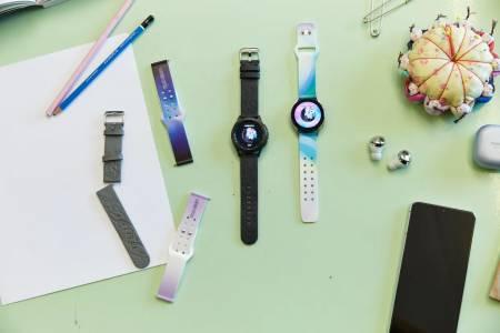 Новите еко каишки за Samsung Galaxy Watch 4 са изработени от ябълкови обелки