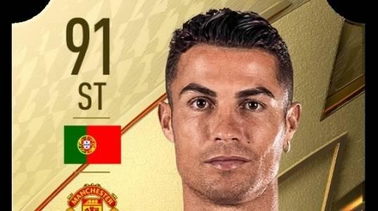 FIFA 22 намали оценката на Кристиано Роналдо и интернет се бунтува