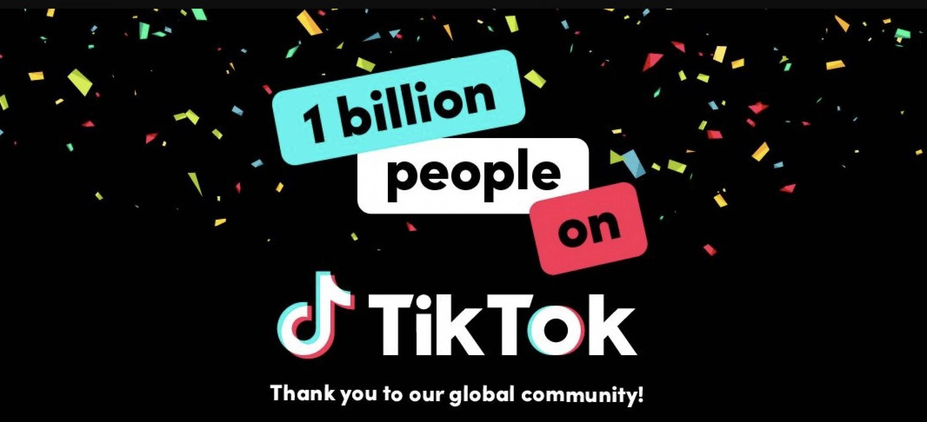 TikTok надмина 1 милиард потребители