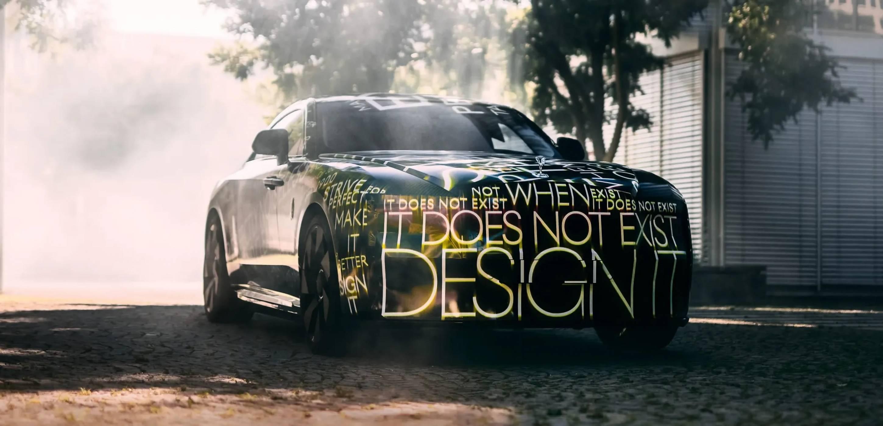 Rolls-Royce Spectre дава начало за е-революцията на прочутата марка