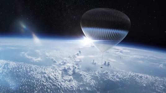 През 2024 г. ще може да зърнете Земята от балон в стратосферата